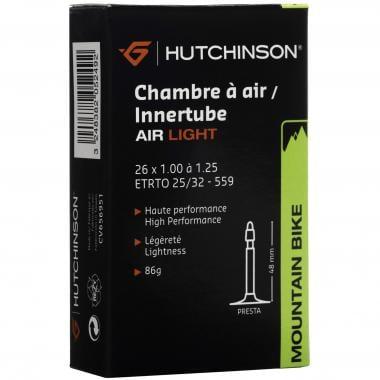 Chambre à Air HUTCHINSON AIR LIGHT 26x1,00 à 1,25 Presta 48 mm