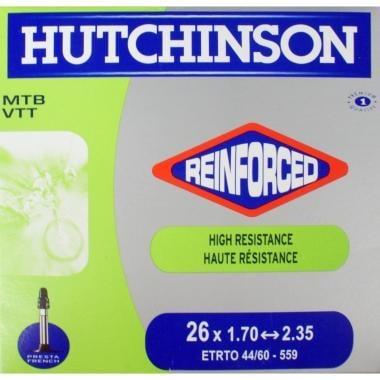 Câmara de Ar HUTCHINSON REINFORCED 26x1,70/2,35 Butyl Presta 48 mm