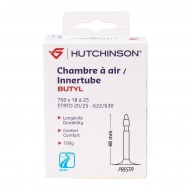 Chambre à Air HUTCHINSON BUTYL 700x18/25c Valve 48 mm