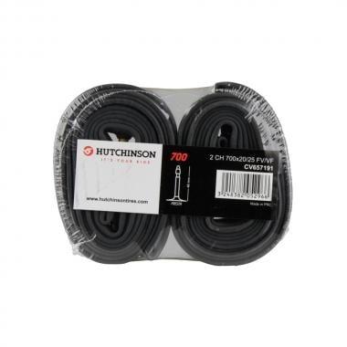 Paire de Chambres à Air HUTCHINSON 700x20/25c Valve 48 mm