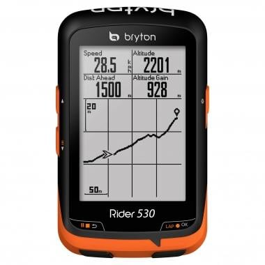 GPS BRYTON RIDER 530 T + HRM + Cadência + Velocidade