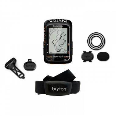 GPS BRYTON RIDER 450 T + HRM + Cadence