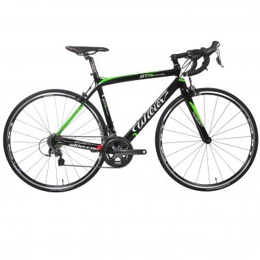 Bicicleta de Corrida WILIER TRIESTINA GTR Shimano Tiagra 4700 34/50 Preto/Verde 2016