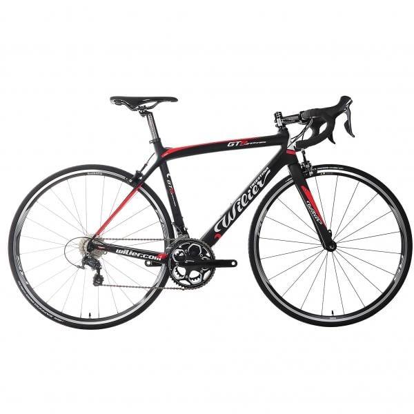 Vélo de Course WILIER TRIESTINA GTR Shimano Ultegra 6800 34/50 Noir/Rouge 2016