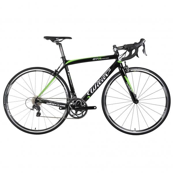 Bicicleta de Corrida WILIER TRIESTINA GTR Shimano Ultegra 6800 34/50 Preto/Verde 2016