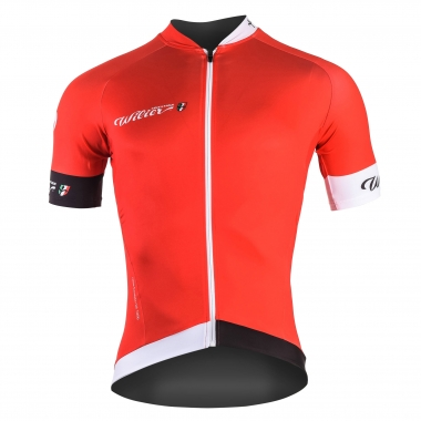 Maillot WILIER 110° Manches Courtes Rouge 2017