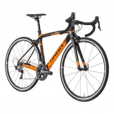 Vélo de Course WILIER TRIESTINA GTR Shimano Ultegra R8000 34/50 Noir/Orange 2019