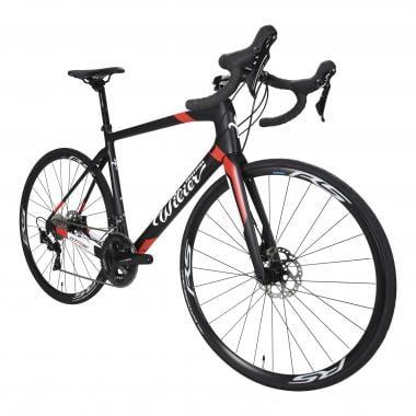 Vélo de Course WILIER TRIESTINA GTR TEAM DISC Shimano 105 R7020 34/50 Noir/Blanc/Rouge 2020