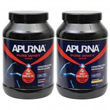 Bebida de recuperación APURNA PURE WHEY ISOLAT Hiperproteica (750 g)