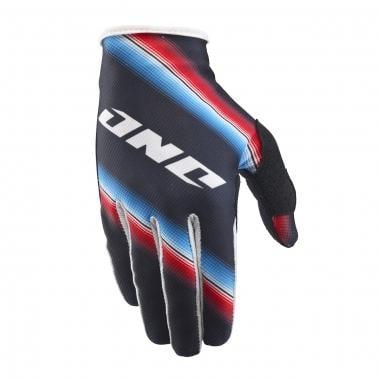 ONE INDUSTRIES ZERO ZEROPE Gloves Cyan/Red