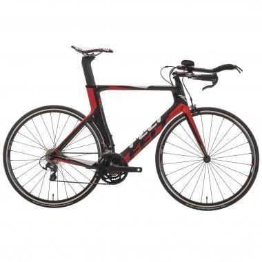 Vélo de Contre La Montre FELT B14 Shimano Ultegra 6800 34/50 Noir/Rouge 2017