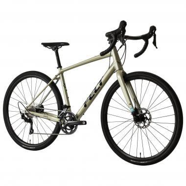 Vélo de Gravel FELT BROAM 30 Shimano 105 Mix 30/46 Blanc/Noir 2019