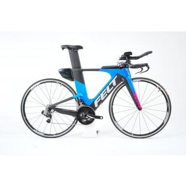 CDA - Vélo de Triathlon FELT IA2 Sram RED E-TAP 36/52 Noir/Bleu 2018 - Taille 51