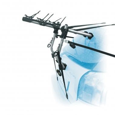 Portabicicletas PERUZZO VERONA 382-SC 3 bicicletas sobre la puerta del maletero