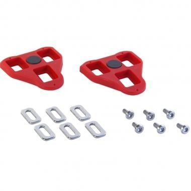 Kit di Tacchette VELOX per Pedali LOOK DELTA Rosso