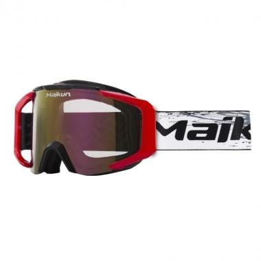 Masque MAIKUN ARROW Noir/Rouge Écran Iridium