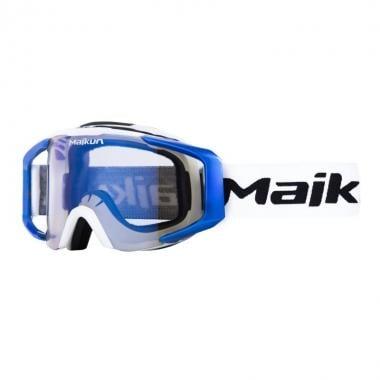 Masque MAIKUN ARROW Blanc/Bleu Écran Iridium