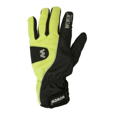 Guantes WOWOW CYCLE GLOVES 1.0 Amarillo/Negro