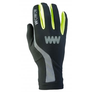 Guantes WOWOW DARK GLOVES 3.0 Reflectantes Negro/Amarillo