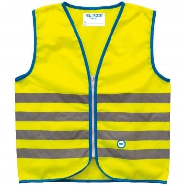 Chaleco de seguridad reflectante WOWOW FUN JACKET Niño Amarillo