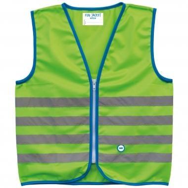 Colete de Segurança Refletor WOWOW FUN JACKET Criança Verde