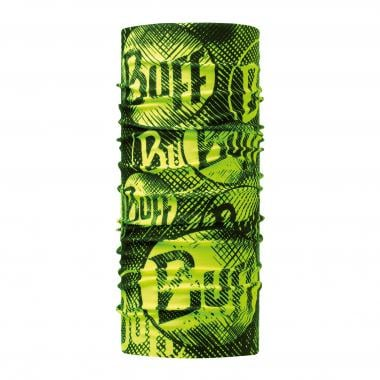 Tour de Cou BUFF ORIGINAL LOG US YELLOW FLUOR Vert