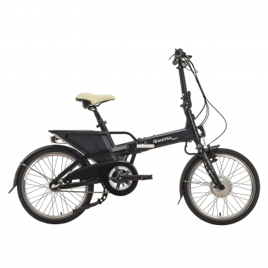 Bicicleta Dobrável Elétrica MATRA FX+ NEXUS 3 Preto 2017