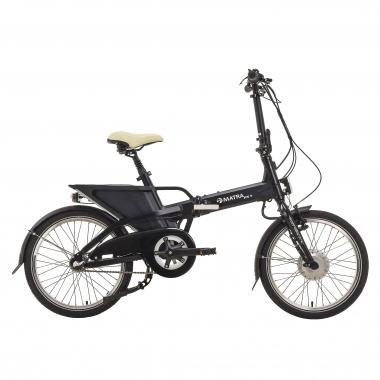 Bicicleta plegable eléctrica MATRA FX+ NEXUS 3 Negro 2017