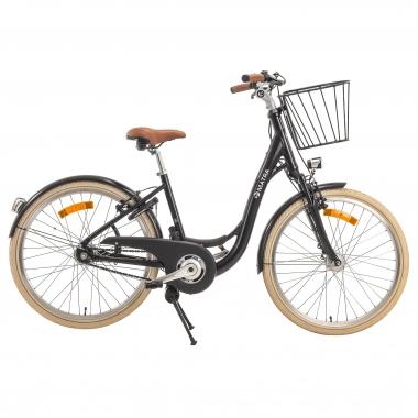 Bicicleta de paseo con cambio automático MATRA RETROCHIC Negro