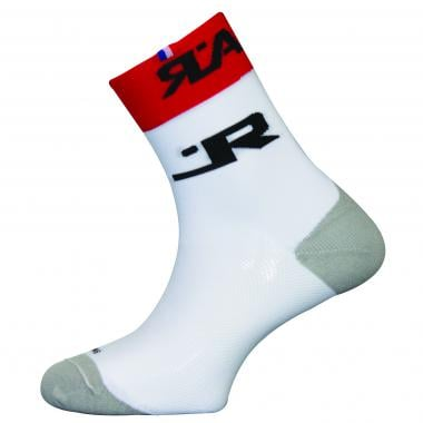 Chaussettes RAFA'L CARBONE ATTACK Blanc/Rouge