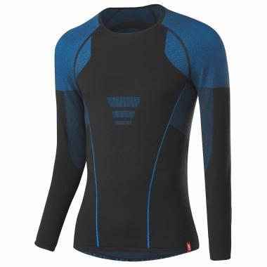 Sous-Vêtement Technique LOFFLER TRANSTEX WARM HYBRID Manches Longues Noir/Bleu 2019