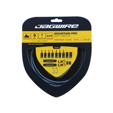 Kit de cables y fundas de cambio JAGWIRE MOUNTAIN PRO Negro Carbono