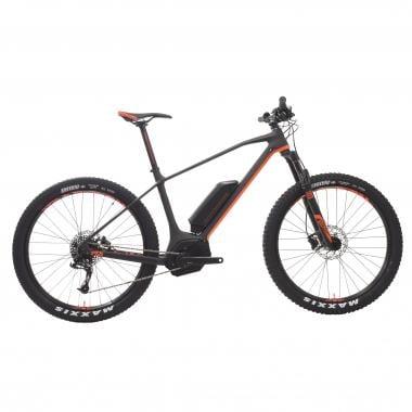 Mountain bike eléctrica MONDRAKER E-PRIME CARBON R 27,5+ Negro/Naranja 2017
