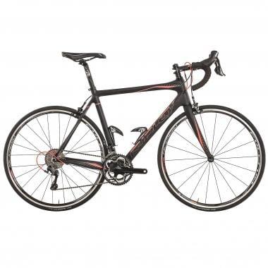 Bicicleta de Corrida RIDLEY FENIX CARBON START TO RIDE Shimano Ultegra 6800 34/50 Preto/Vermelho 2016