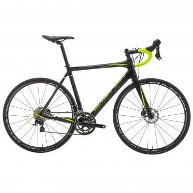 Bicicletta da Corsa RIDLEY FENIX CARBON DISC Shimano 105 Mix 34/50 Nero/Giallo 2017