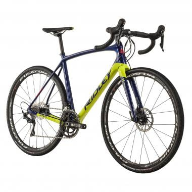 Vélo de Gravel RIDLEY X-TRAIL CARBON DISC Shimano Ultegra R8020 34/50 Bleu/Jaune 2018