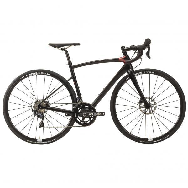 1583a8d5389 RIDLEY FENIX SLX DISC Shimano Ultegra R8020 36/52 Road Bike Black/Red 2018