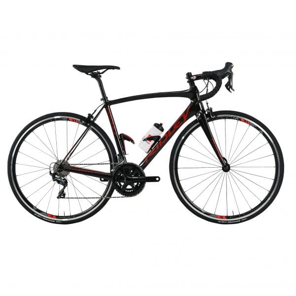 c746da007c4 RIDLEY FENIX CARBON START TO RIDE Shimano Ultegra Mix 34/50 Road Bike  Black/Red 2018