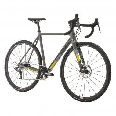 Bicicletta da Ciclocross RIDLEY X-NIGHT SL DISC Sram Force 1 42 Denti Grigio/Nero/Giallo