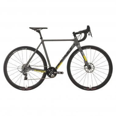 Bicicletta da Ciclocross RIDLEY X-NIGHT SL DISC Sram Force 1 42 Denti Grigio/Nero/Giallo 2019