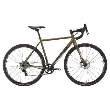 Bicicletta da Ciclocross RIDLEY X-RIDE DISC Sram Rival 1 42 Denti Verde/Grigio 2019
