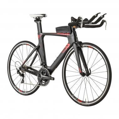 Vélo de Contre La Montre RIDLEY DEAN Shimano 105 Mix 36/52 Noir/Rouge