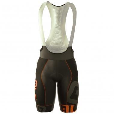 Pantaloncini con Bretelle ALE PRR MITHOS Nero/Arancione Fluo