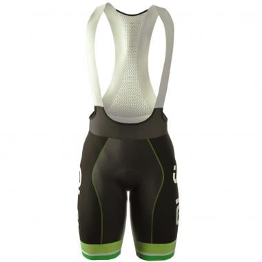 Pantaloncini con Bretelle ALE PRR AVVERSARIO Bianco/Verde Fluo