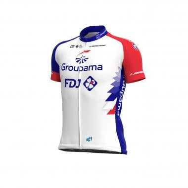 Maillot ALE GROUPAMA FDJ Manches Courtes Blanc 2021