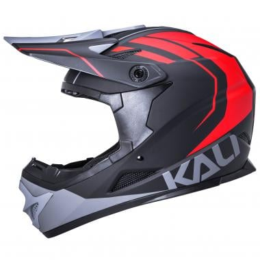 Casque KALI ZOKA Junior Noir/Rouge/Gris 2020