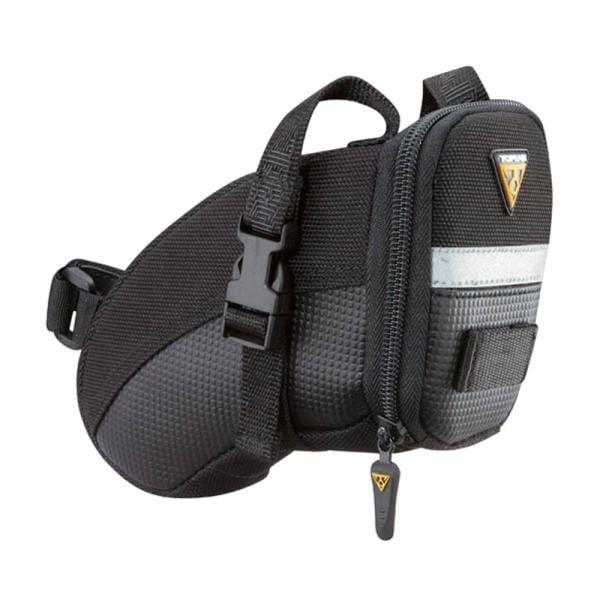 Nouveau Topeak Aero Wedge Pack-Petit Vélo//Vélo Selle//Siège Sac Avec Sangle
