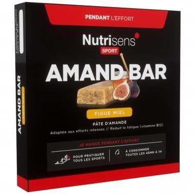 Lote de 4 barritas energéticas NUTRISENS SPORT AMAND BAR (25 g)