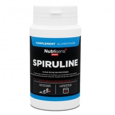 Bote de 90 comprimidos de suplemento alimenticio NUTRISENS SPORT SPIRULINE