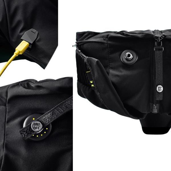 airbag f r radfahrer h vding 2 0 schwarz probikeshop. Black Bedroom Furniture Sets. Home Design Ideas